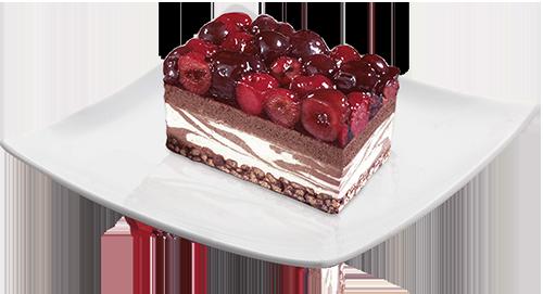 Choco&Cherry Cake
